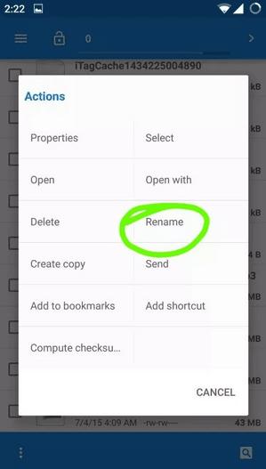Renaming the app